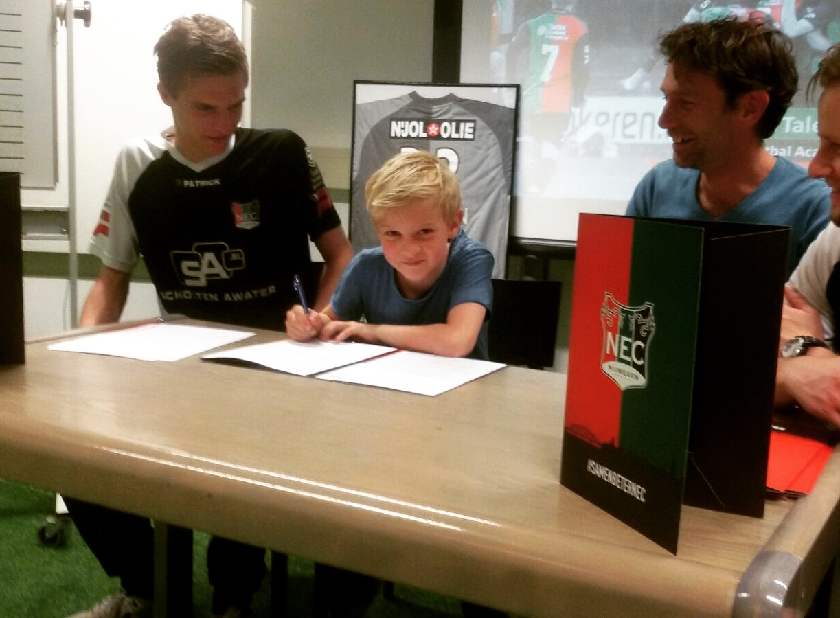 Voetbalacademie NEC FC Oss Jurian Roest