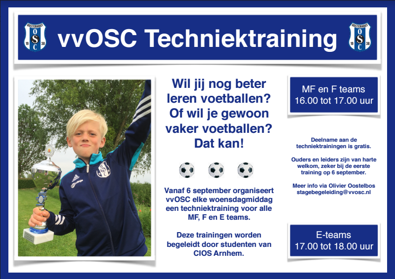 TechniekTrainingFlyer