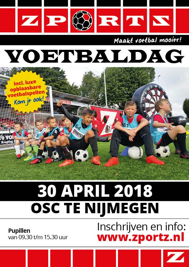 ZPORTZ voetbaldag 30 april 2018